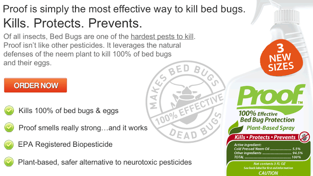 PROOF Bedbug Spray