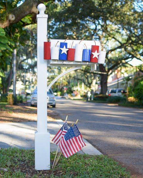 patriotic mailbox diy 2
