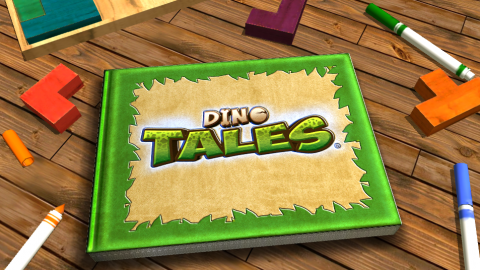 Create your own DINO TALES learning adventure