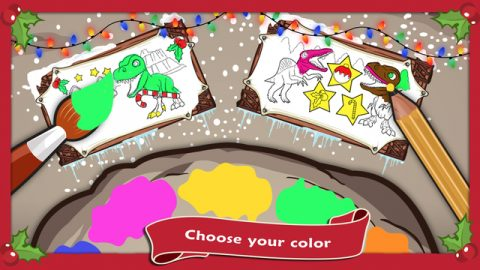 Creative Apps for Toddlers: Dino Flip & Dino Paint