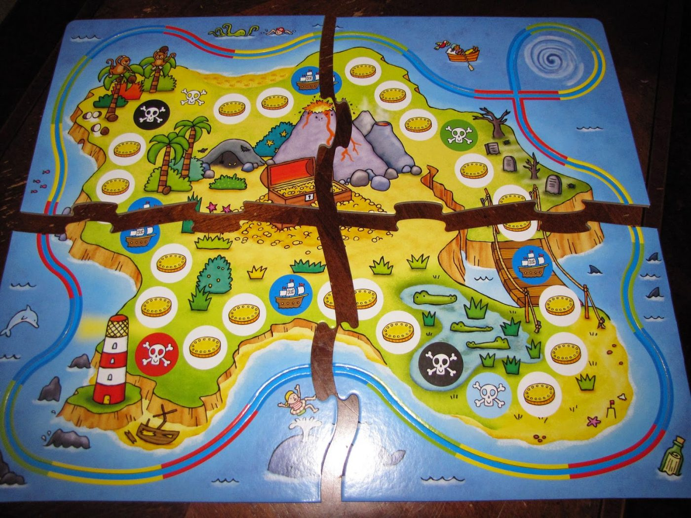 pirate pursuit board game