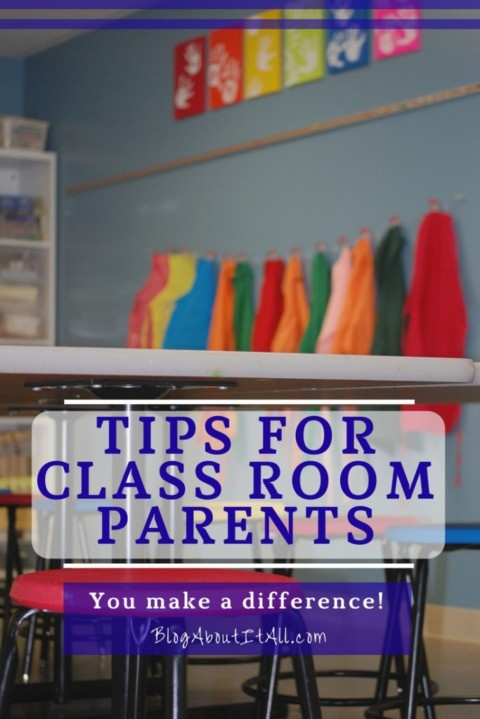 Tips for Class Room Parents
