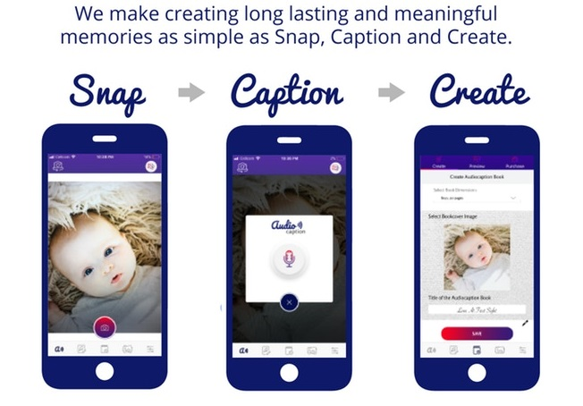 Audiocaption Snap Caption Create