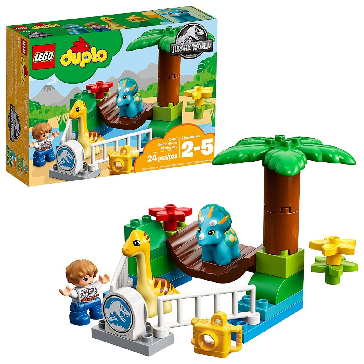 lego duplo building kit jurassic world