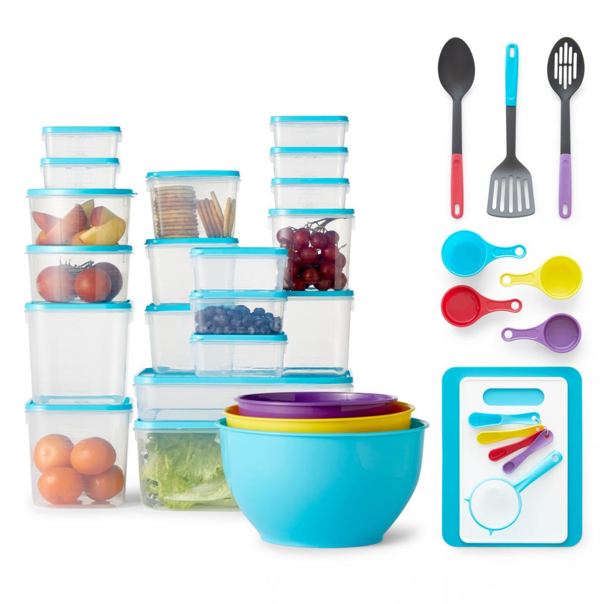 55 piece cooks kitchen set