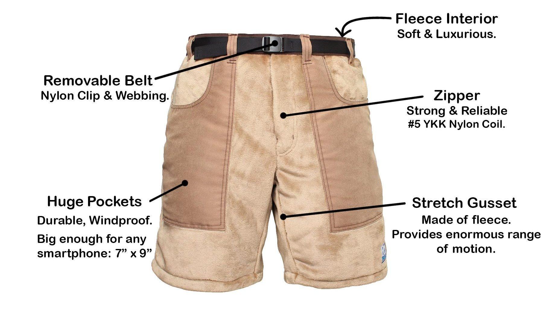 Polar Micro Fleece Shorts