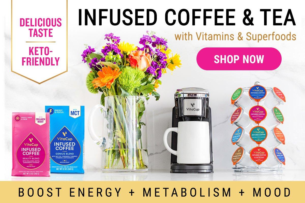 vitacup vitamin infused coffee and tea