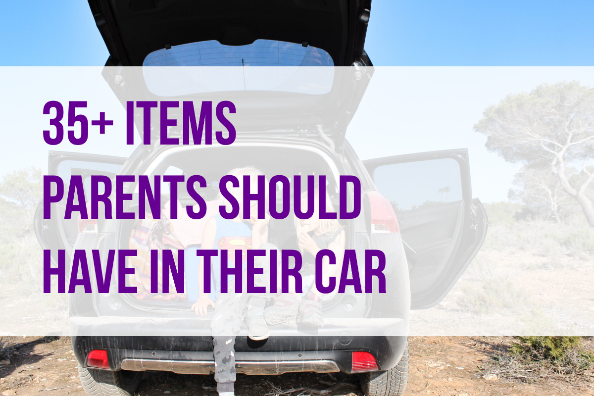what every mom should have in their car