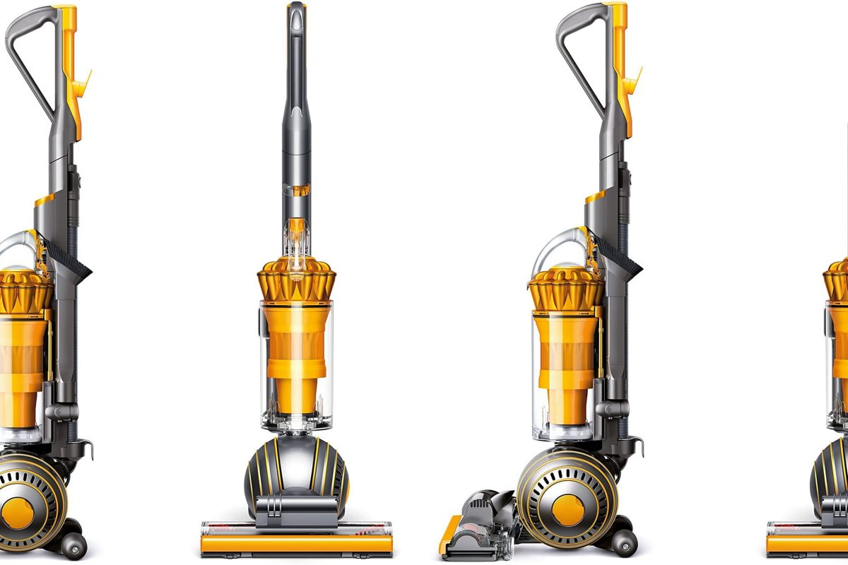 Dyson Ball Multi Floor 2 Upright Vacuum, Yellow (Renewed)
