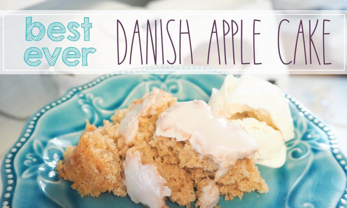 easy danish apple cake recipe