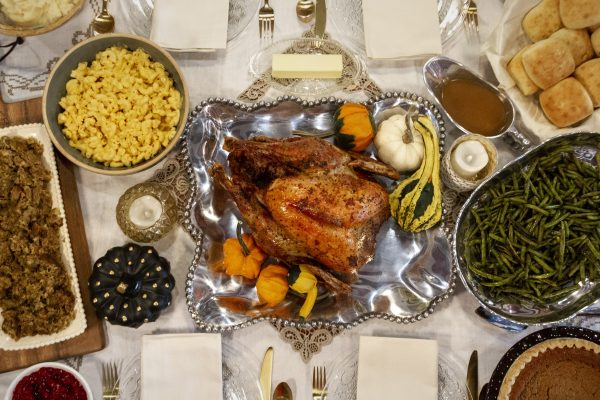 Holiday World Thanksgiving meal